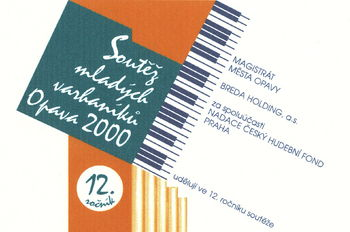 Competition of young organists Opava 2000